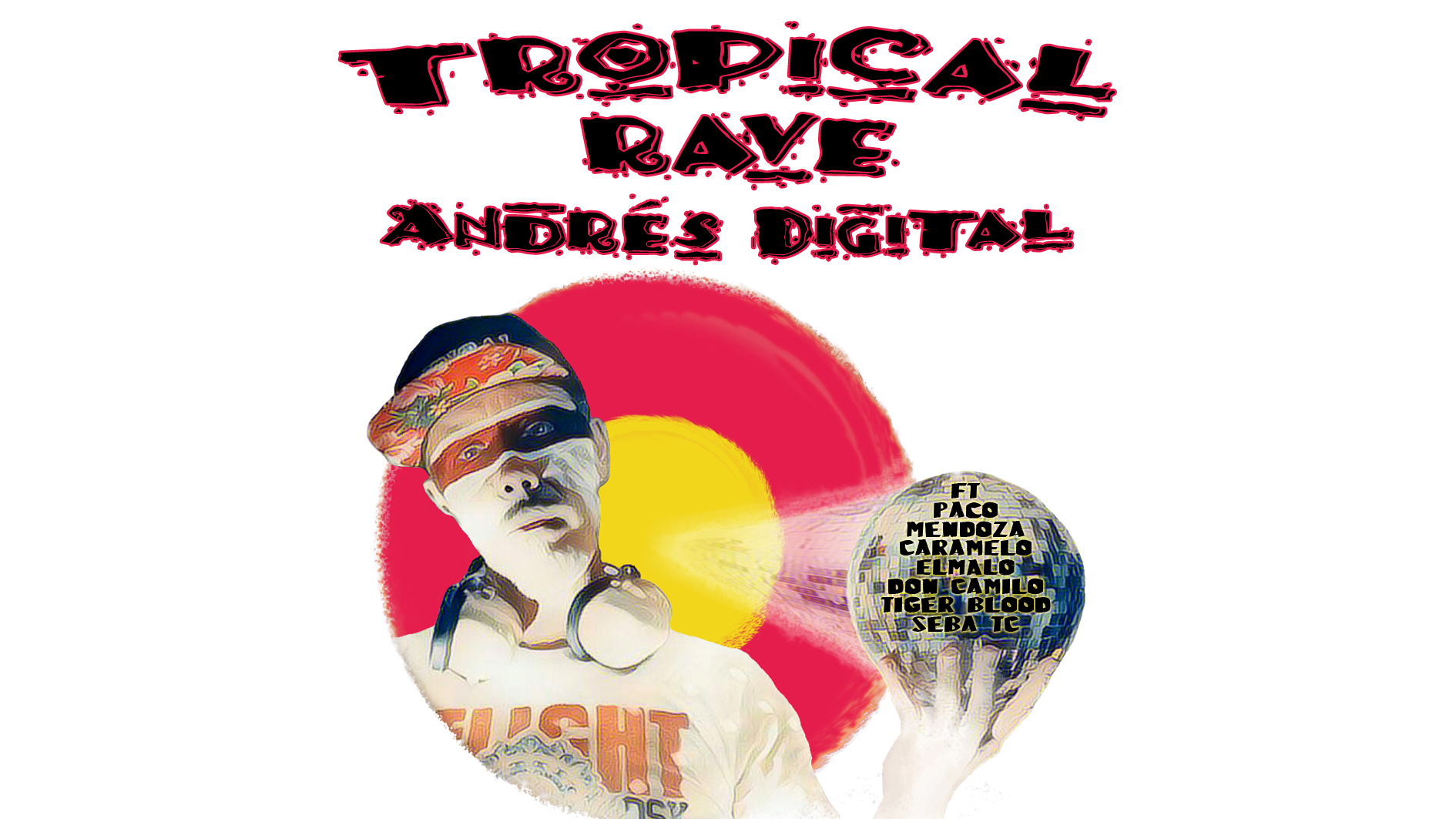 Releasetime on tropicalbass.com - We are very proud to present the new Album by our man Andrés Digital - Tropical Rave