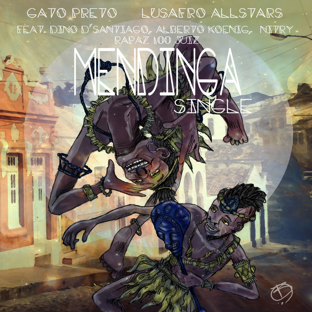 Gatp Preto celebrating Mendinga Carnival with an new EP
