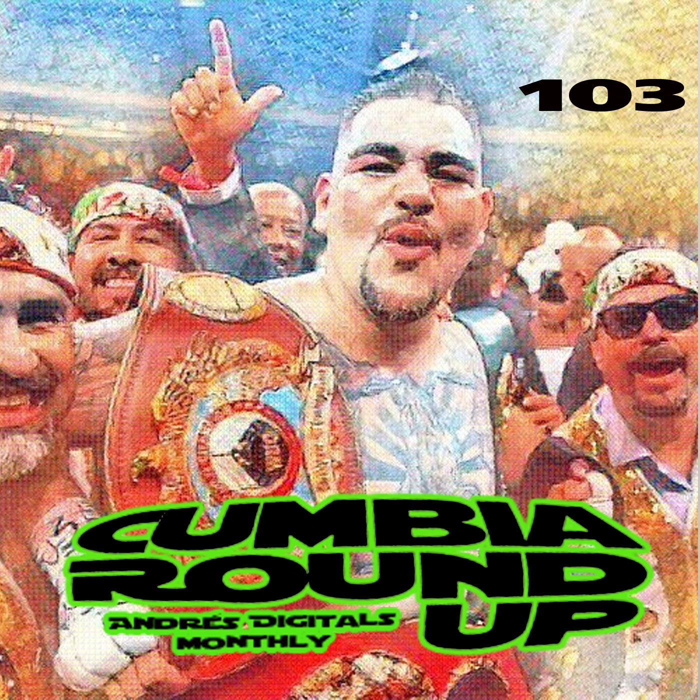 With Tunes and Remixes by Paco Mendoza, Kumbia Boruka, Kumbia Queers, Banana Sound Cartel, Caballo and many more