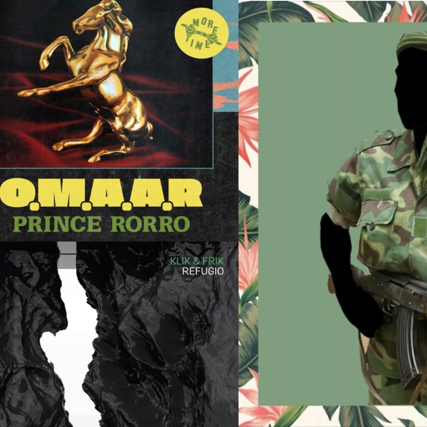 Cool EPs by Sonido Berzerk, Klik & Frik and O.M.A.A.R