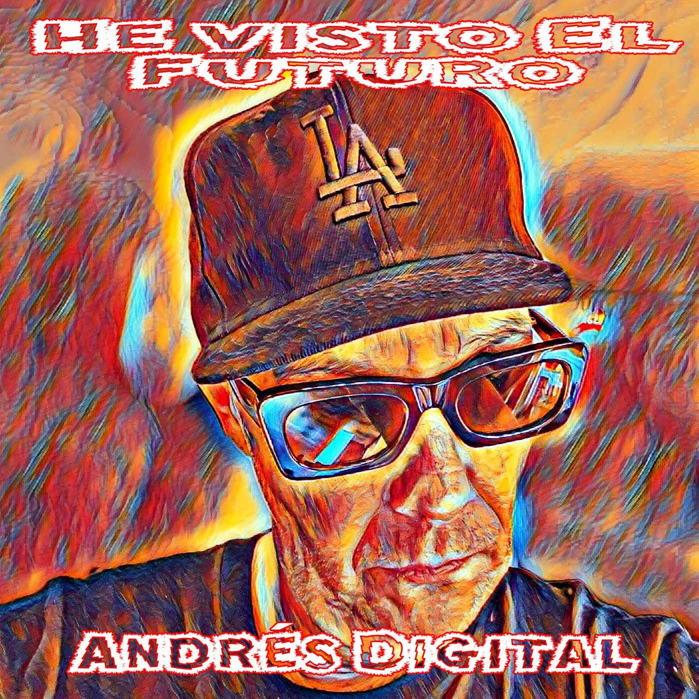New EP He visto el Futuro by Andrés Digital on Cassette Exclusivos